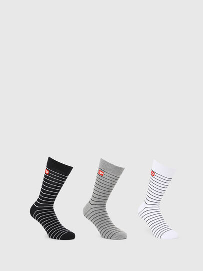 Diesel - SKM-RAY-THREEPACK, Multicolor/Black - Socks - Image 1