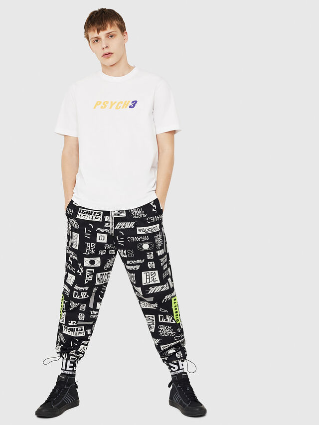 Diesel - T-JUST-Y15, White - T-Shirts - Image 5