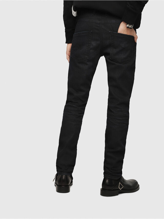Diesel - Belther 087AU, Dark Blue - Jeans - Image 2