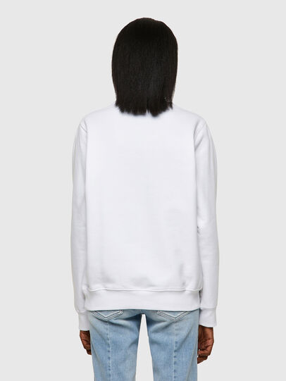 Diesel - F-ANGS-ECOLOGO, Black/White - Sweaters - Image 2
