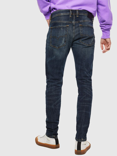 Diesel - Sleenker 069GC, Dark Blue - Jeans - Image 2