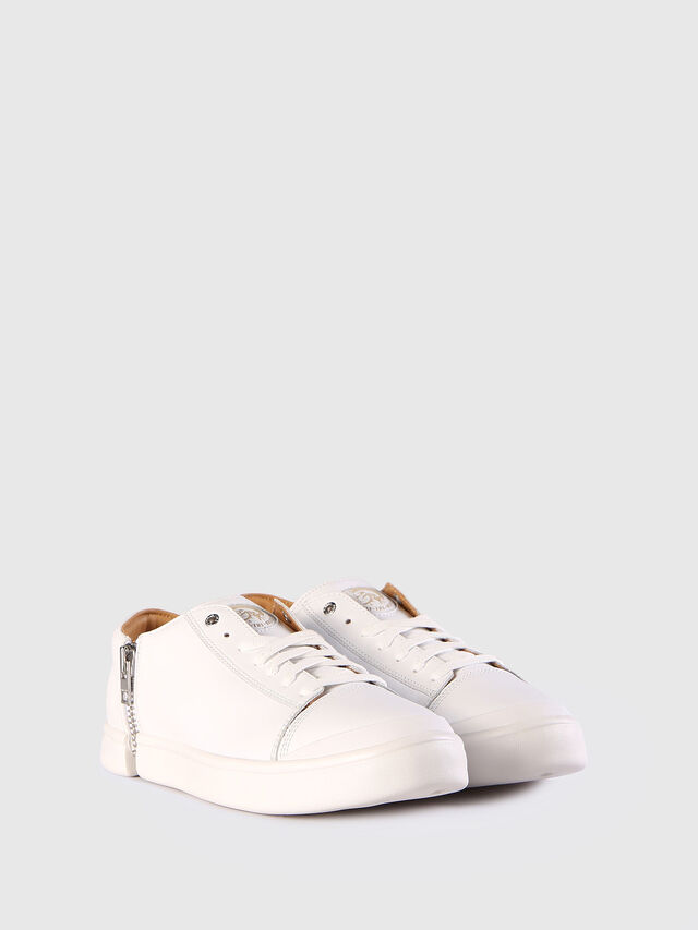 Diesel - S-NENTISH LOW, White - Sneakers - Image 2
