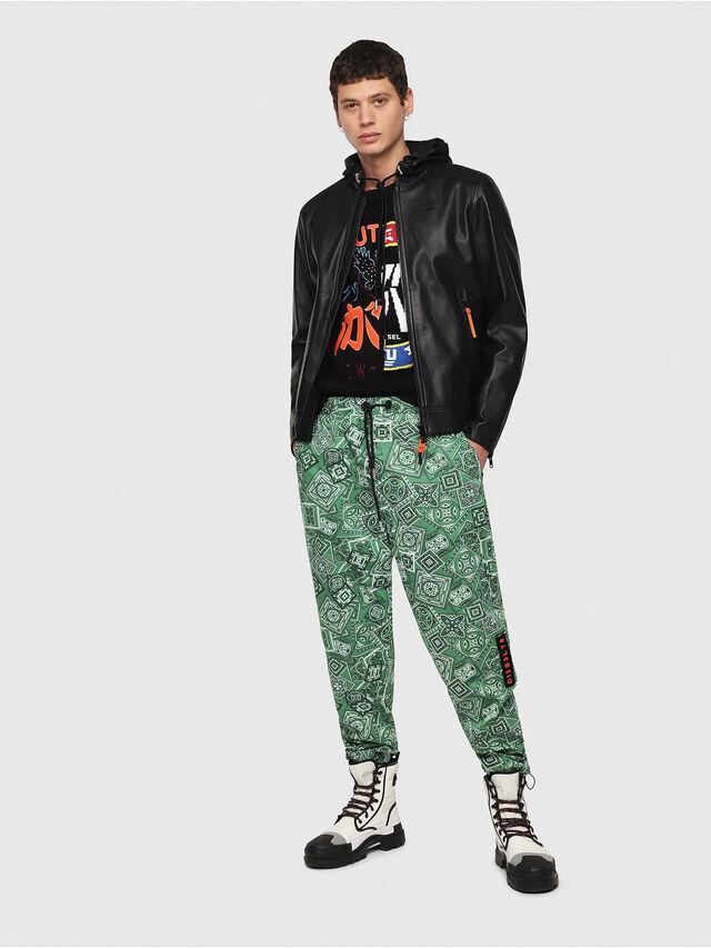 Diesel - L-RESTIL, Black - Leather jackets - Image 5