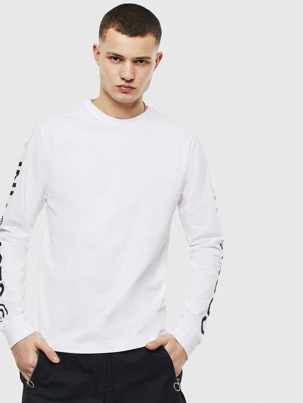 T-JUST-LS-T14, White - T-Shirts