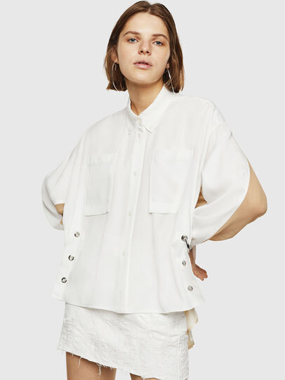 Diesel - C-LEXYS, White - Shirts - Image 1