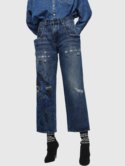 Diesel - Widee 0092Z, Medium blue - Jeans - Image 1