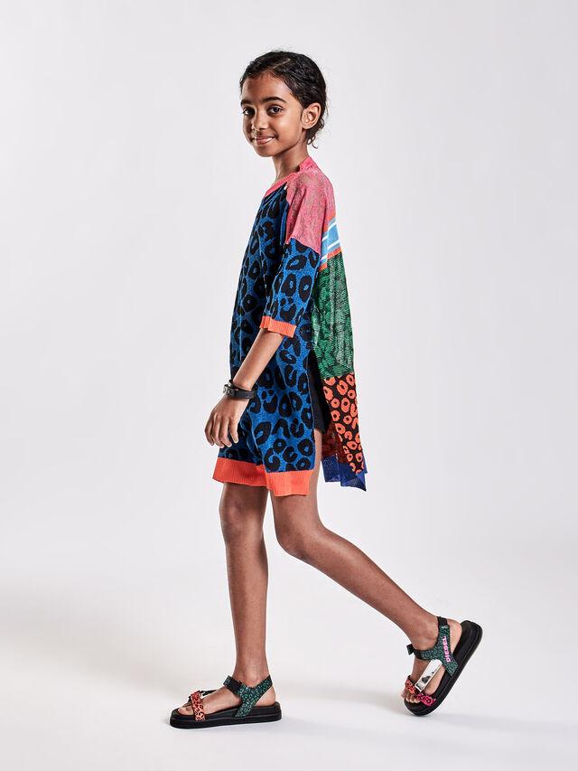 Diesel - KMLEO, Black/Multicolor - Knitwear - Image 4
