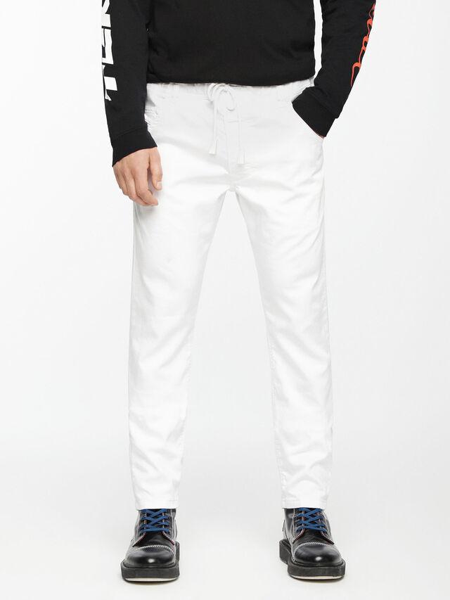 Diesel - Krooley JoggJeans 0684U, White - Jeans - Image 2