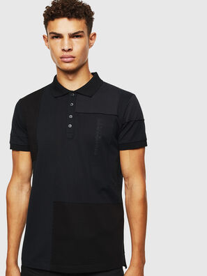 T-POLPATCH, Black - Polos
