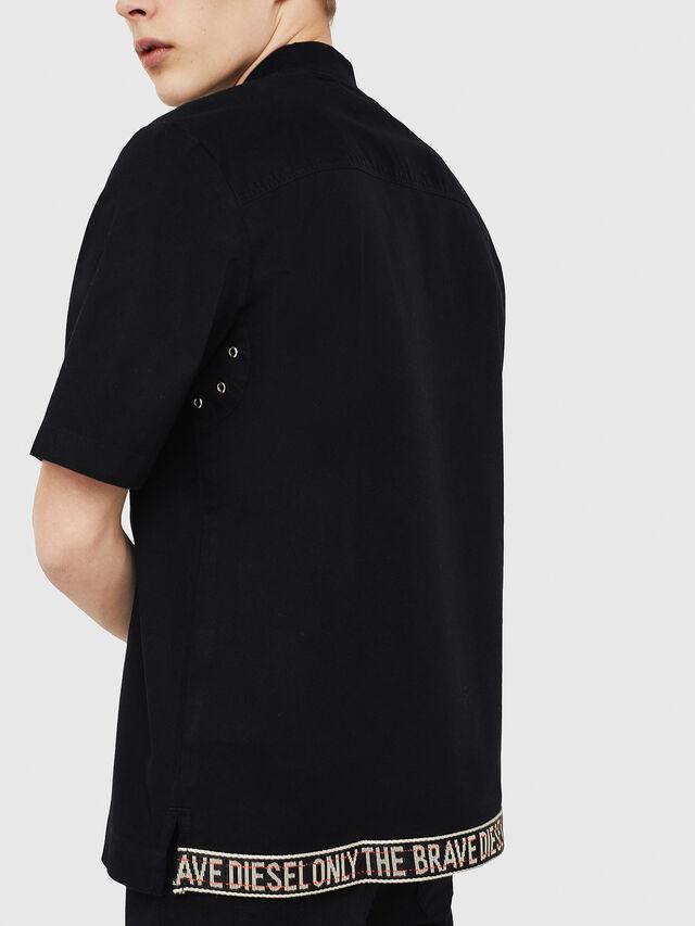 Diesel - S-DRINA, Black - Shirts - Image 3