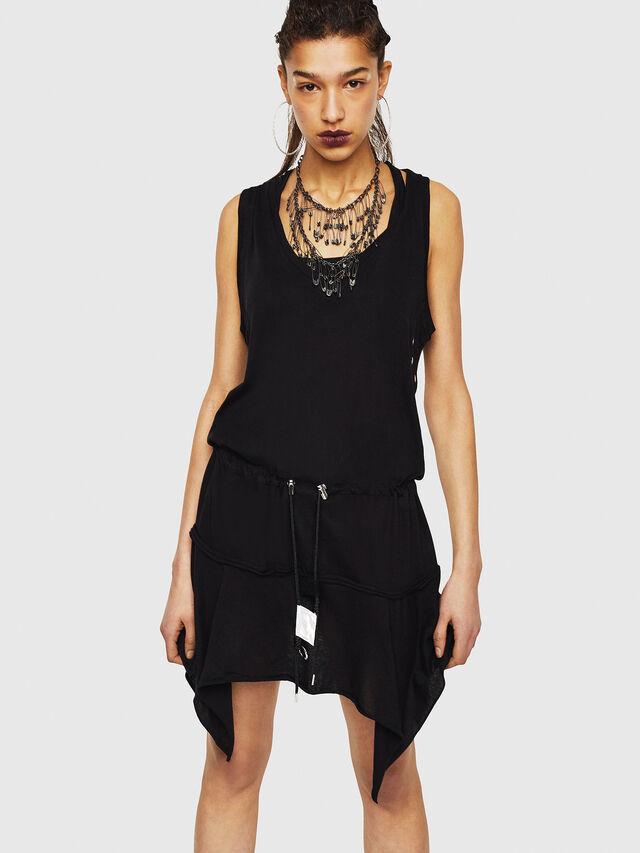 Diesel - D-SLOAN, Black - Dresses - Image 1