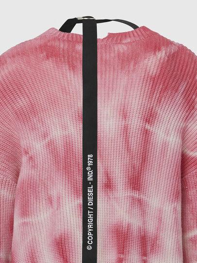 Diesel - M-INDIANA, Pink/White - Knitwear - Image 4