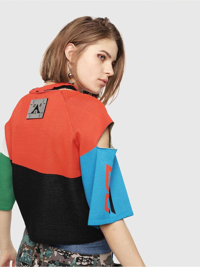 Diesel - M-DOIT, Multicolor - Knitwear - Image 2