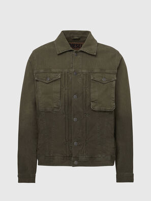 D-YOGI-SP JOGGJEANS, Olive Green - Denim Jackets