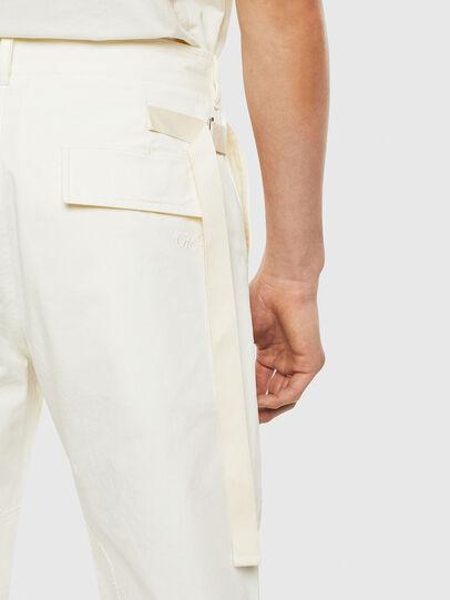 Diesel - P-ARMY, White - Pants - Image 5