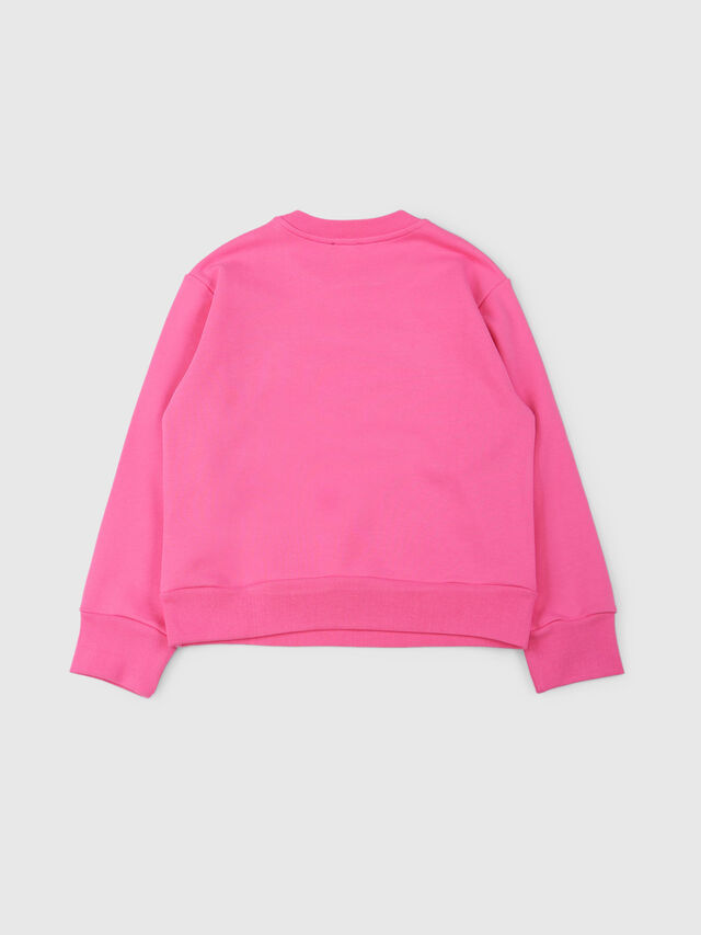 Diesel - SCREWDIVISION OVER, Hot pink - Sweaters - Image 2