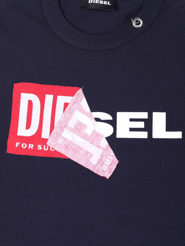 Diesel - TEDRI OVER, Navy Blue - T-shirts and Tops - Image 3