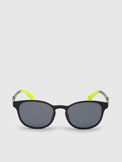 Diesel - DL0328, Black/Yellow - Sunglasses - Image 1