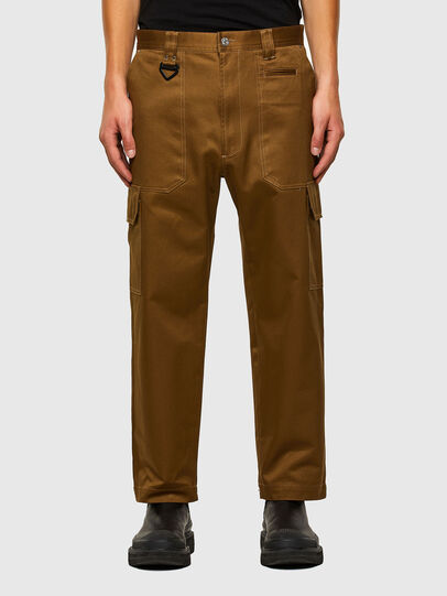 Diesel - P-BAKER, Brown - Pants - Image 1