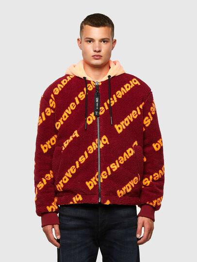 Diesel - W-DEMOREO, Brown - Winter Jackets - Image 1