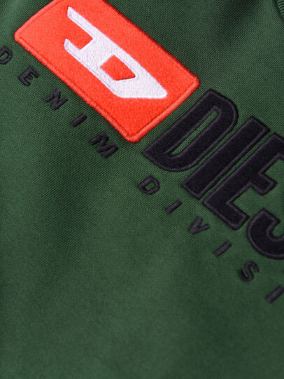 Diesel - SCREWDIVISION OVER, Bottle Green - Sweaters - Image 3