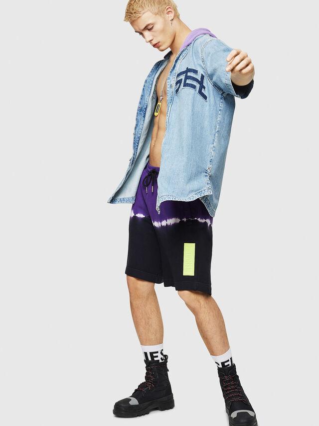 Diesel - D-BOW-J, Blue Jeans - Denim Shirts - Image 5