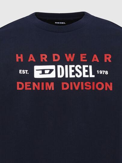 Diesel - S-GIRK-K10, Dark Blue - Sweaters - Image 3