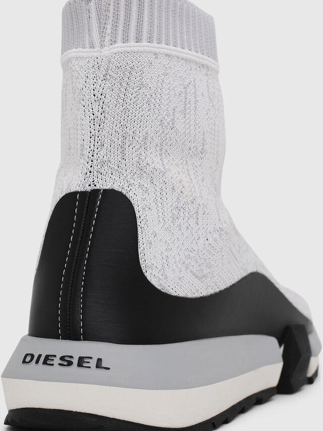 Diesel - H-PADOLA MID SOCK, White/Black - Sneakers - Image 4