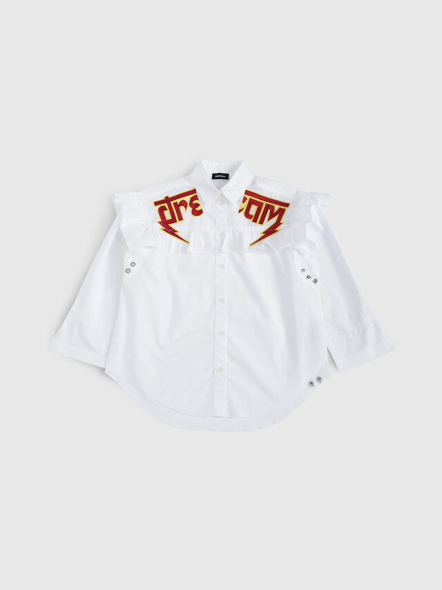 Diesel - CBUL, White - Shirts - Image 1