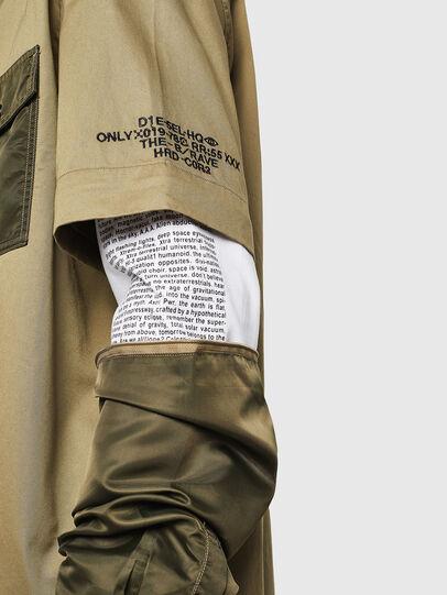 Diesel - S-KOSOV, Military Green - Shirts - Image 3
