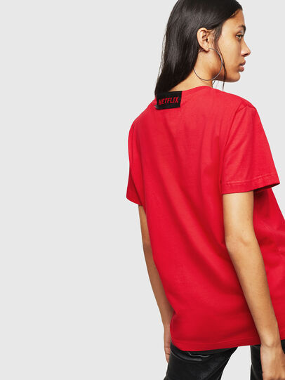 Diesel - LCP-T-DIEGO-LISBOA, Red - T-Shirts - Image 4