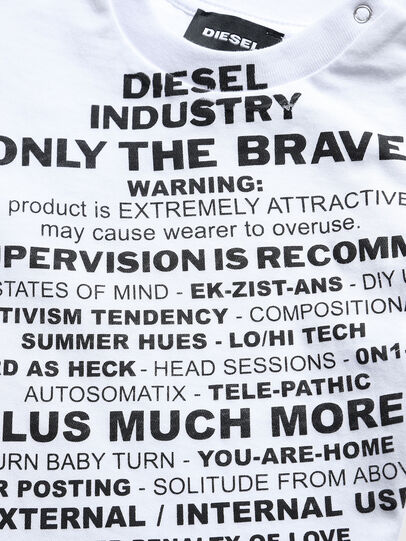 Diesel - TDIEGOS3B, White - T-shirts and Tops - Image 3