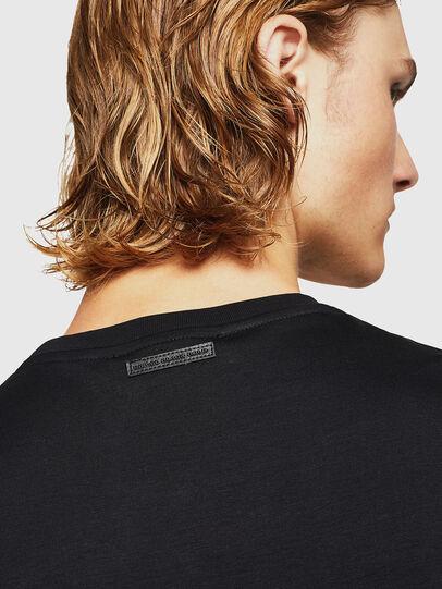 Diesel - TEORIALE-X2, Black - T-Shirts - Image 5