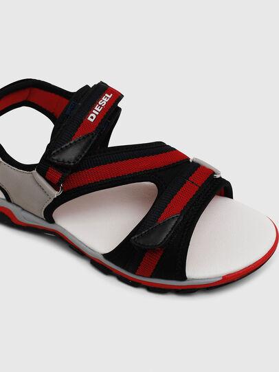Diesel - SA 07 STRIPE YO, Grey/Red - Footwear - Image 4