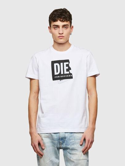 Diesel - T-DIEGOS-LAB, White - T-Shirts - Image 1
