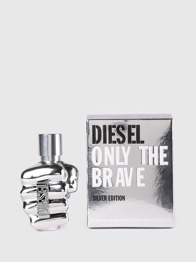 Diesel - ONLY THE BRAVE SILVER EDITION 50ML, Generic - Only The Brave - Image 1