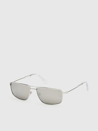 Diesel - DL0308, White - Sunglasses - Image 2