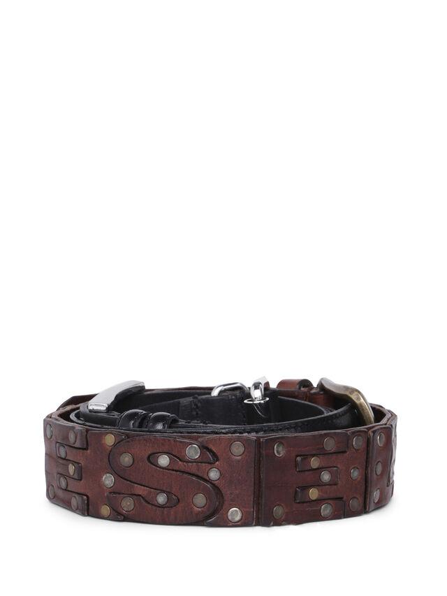Diesel - GMBELT3, Black/Brown - Belts - Image 3