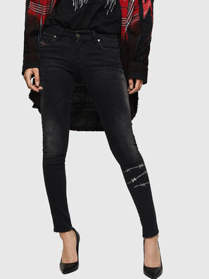 Slandy Low 069GH, Black/Dark grey - Jeans
