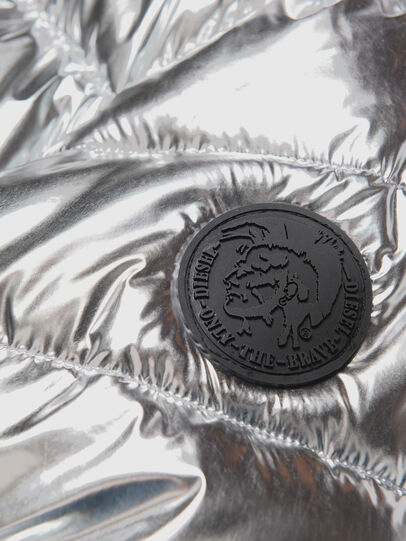 Diesel - JSMITHSILVER, Silver - Jackets - Image 3