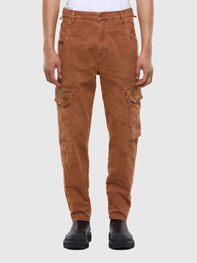 Diesel - D-Krett JoggJeans® 069RJ, Light Brown - Jeans - Image 1