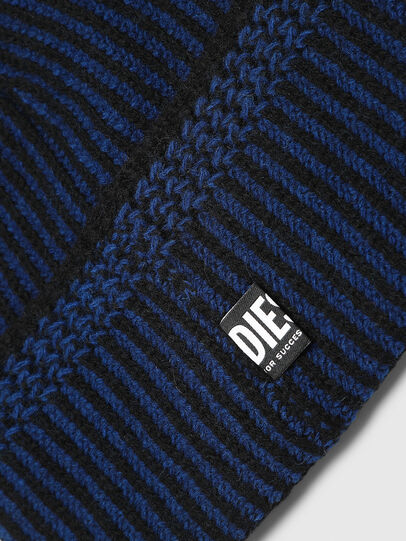 Diesel - K-MANNYS, Black/Blue - Knit caps - Image 3