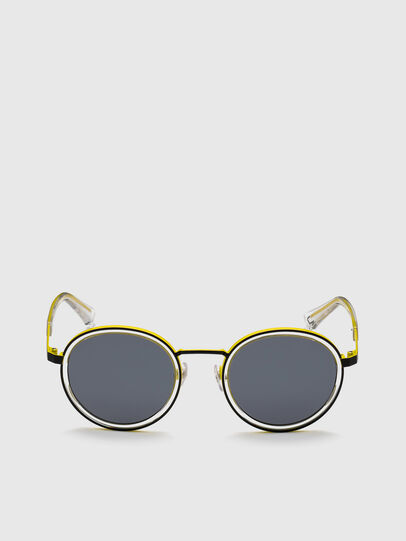 Diesel - DL0321, Black/Yellow - Sunglasses - Image 1
