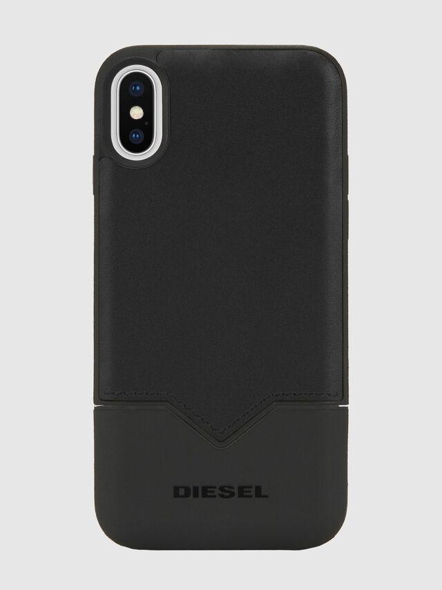Diesel - CREDIT CARD IPHONE X CASE, Black - Cases - Image 5