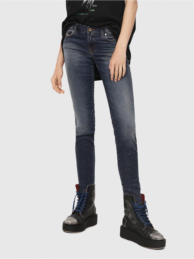 Diesel - Gracey JoggJeans 069FG, Dark Blue - Jeans - Image 1