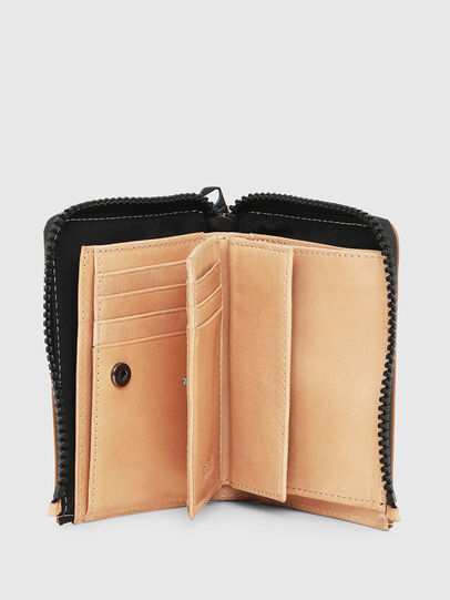 Diesel - L-12 ZIP, White - Small Wallets - Image 3