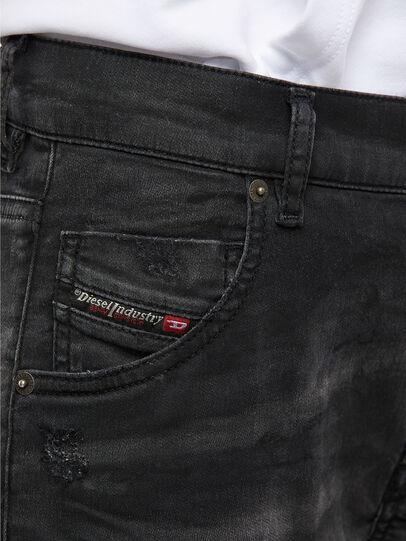 Diesel - KRAILEY JoggJeans® 069QL, Black/Dark grey - Jeans - Image 4