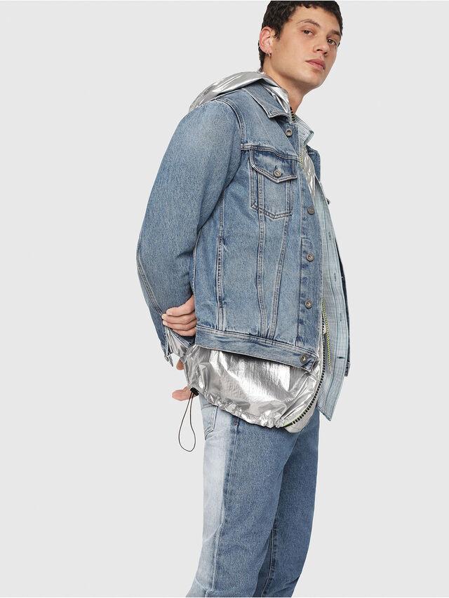 Diesel - NHILL, Blue Jeans - Denim Jackets - Image 3