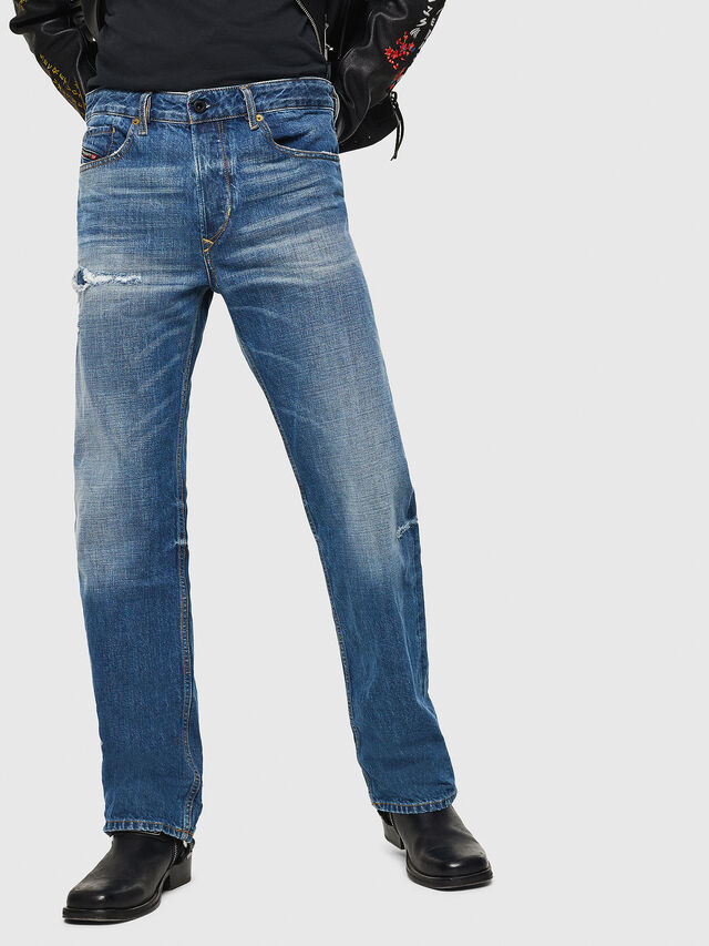 Diesel - D-Kodeck 080AH, Medium blue - Jeans - Image 1