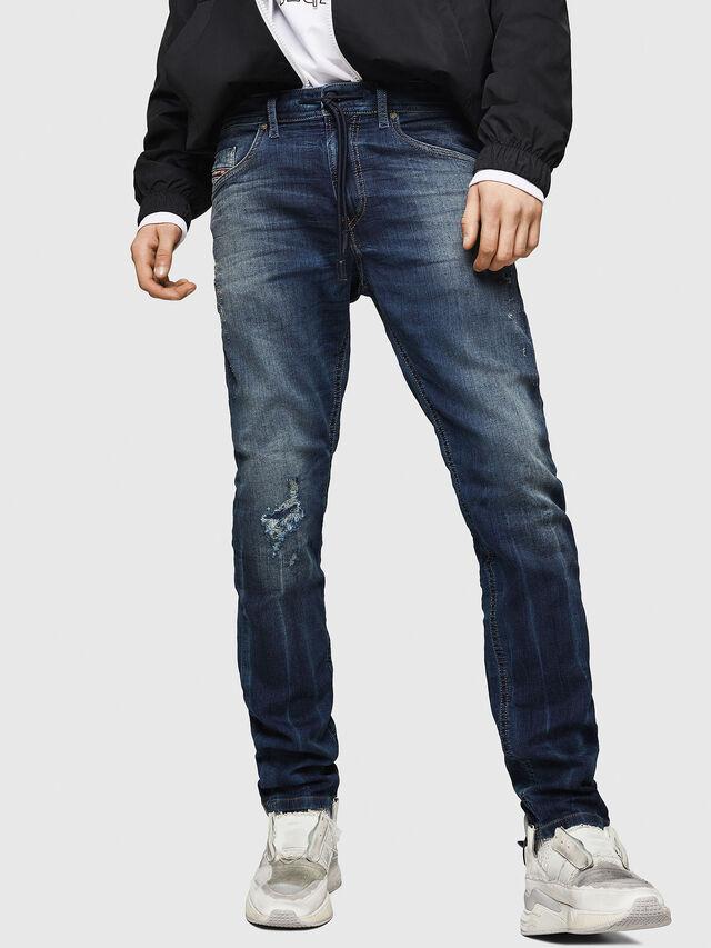 Diesel - Thommer JoggJeans 069HI, Dark Blue - Jeans - Image 1